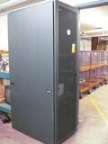 Dell Full Size Server Rack with (2) APC's