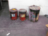 (3) Safety Cans