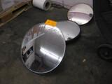 (3) Round Mirrors