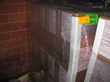 Pallet of  Pefforated Paper 8.5