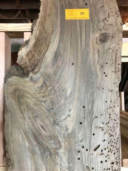 Peck Sinker Cypress Planed 2 sides 118 x 11-14 x 1-3/8