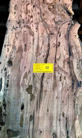 Texas Spalted Pecky Pecan 107 x 16 x 2-3/4
