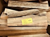(25-30)  Box Of Ocean Salvaged Log Lumber  Various Sizes & Shapes & Wood Types Roughly 16 board feet