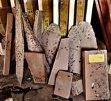 18 x 12 x 12 Box Of Ocean Salvaged Honduran Mahogany Lumber Cutoffs/Strips/Chunks