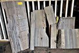 (8) Sinker Cypress Various Sizes 32 Board Feet +-