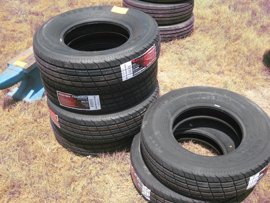 Gladiator QR25-TS ST205/90D15 New Tires LR E