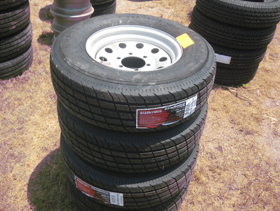 Gladiator QR25-TS ST205/90D15 New Wheels and Tires LR E