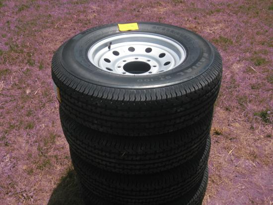 Westlake Radial St-100 St235/80R16 New Wheels and Tires LR E