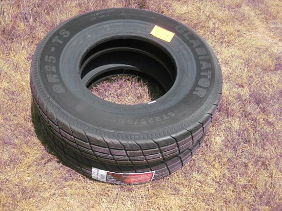 Gladiator QR25-TS St225/90R16 New Tires