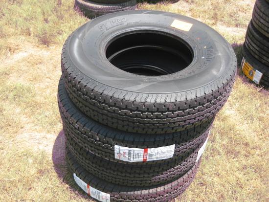 Trailer Master STPro ST235/85R16 New Tires LR F