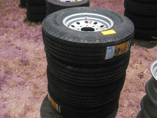 Westlake CR960A ST235/85R16 New Wheels and Tires LR G