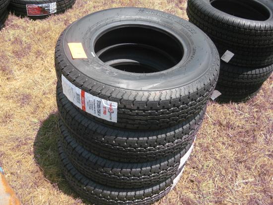 Trailer Master St205/75R14 New Tires LR D