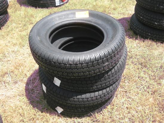 Hi Run LQ229 St205/75D15 New Tires LR C