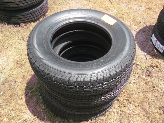 Trailer Master St205/75R15 New Tires LR D