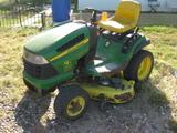 John Deere Model LA130 Ridding Lawnmower 21 hp Gas 48