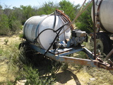 1992 Continental Model 200 Trailer Mounted Gas Powered Spray Rid