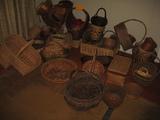 Lot Wicker Baskets