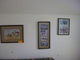 Old West Franmed Prints 6 Total