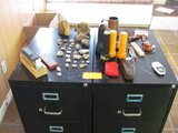 Misc Flints Flashlights Sharping Stones and Cabinets