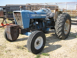Ford Model 4600 2wd Farm Tractor Hrs 1442