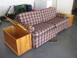 Sofa 2-Pine Side Cabets Sofa