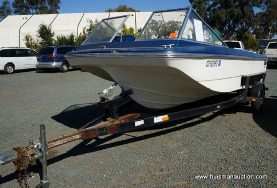 1973 ORION 17' INBOARD/OUTBOARD 302 V8 BOAT   Auctions