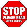Read Before you BID