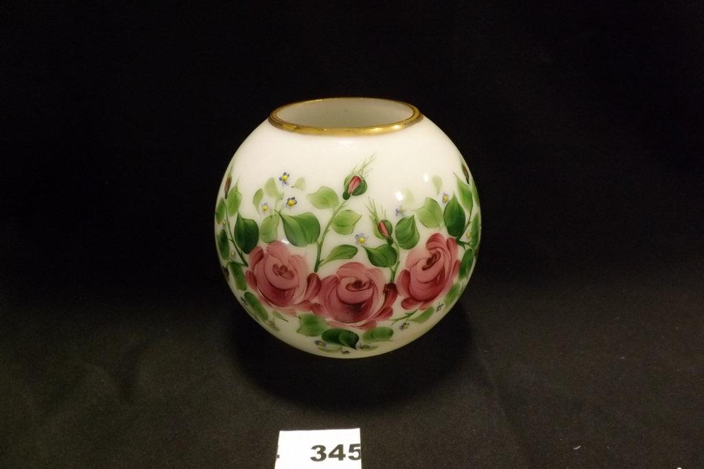 Rainbow Glass Vase Wroses Auctions Online Proxibid