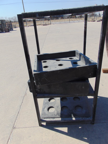 Pouring Rack For Strike Product Bollards