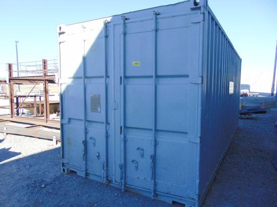 20' Conex storage box