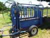 Priefert Portable Cattle Chute, new tires.