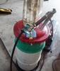 Lincoln 15-gallon barrel grease pump