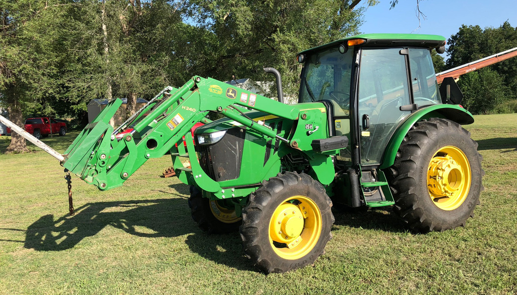 TRACTOR * HAY EQUIPMENT * SHEEP/GOAT TRAILERS