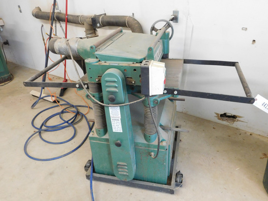 Grizzly Planer Industrial Machinery Equipment