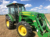 2013 JD FWA 5085E tractor  with 553 loader