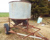 2 wheel grain bin trailer