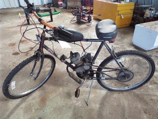 Motorized Schwinn Bicycle
