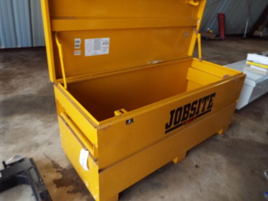 "JOBSITE tool box 2' x 5' x 28"""