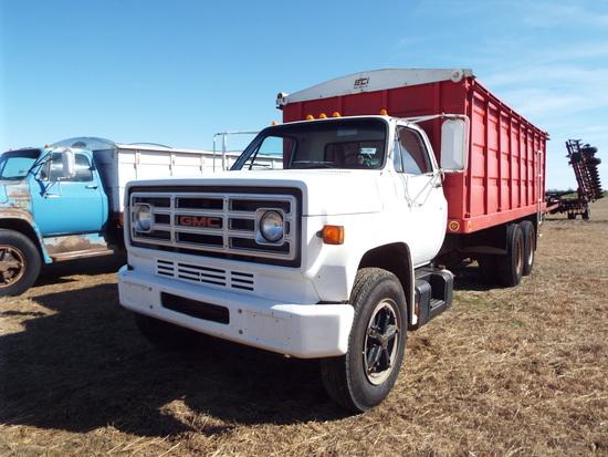 1978 GMC 6500 Tandem truck