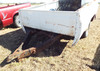 Pick-up bed trailer - White