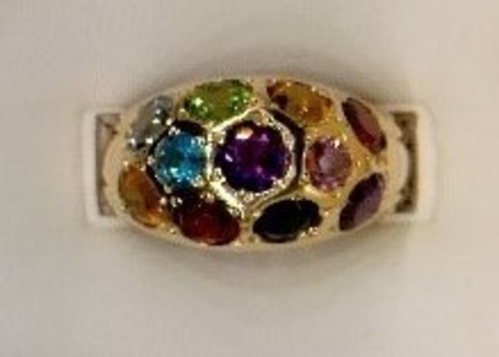 Dome Style Ring
