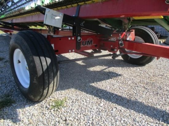 "2015 Unverferth AWS36 all wheel steer, lights, 11L-15"" tires"