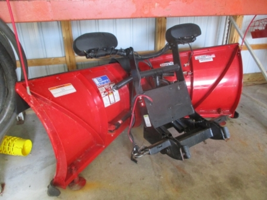 "2.	2009 Boss 8'2"" Power XT truck V-plow, poly guard (like new)"