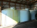 2500 gal. poly tank