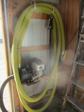 New 5.5 hp. Pacer transfer pump w/hose