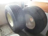 (2) 445 & 425/R65 22.5 tires & rims