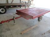 1995 Wayne 6' x 8' single axle tilt bed trailer
