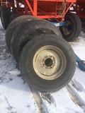 22.5 spare tire on rim