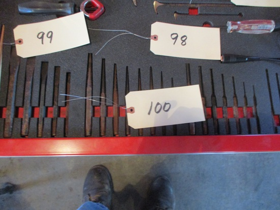 Snap-On punches and chisels