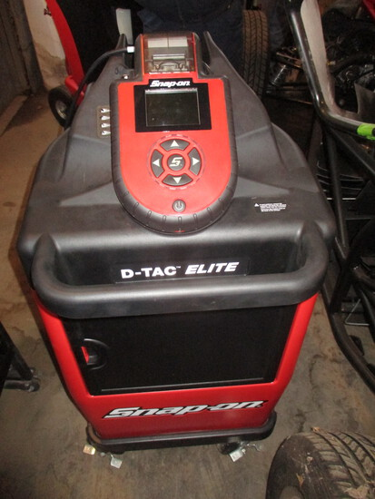 Snap-On D-Tac lite diagnostic and charger tester, model EECS306C